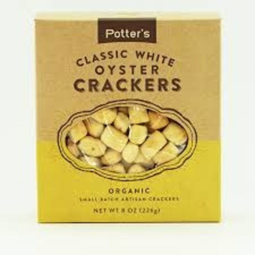 Potter's Crackers Potter's Oyster Crackers: Classic White