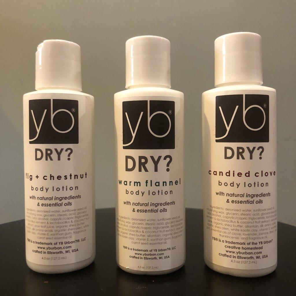 YB Urban? Creative Homestead YB Dry? Lotion - Fig & Chestnut (4 oz)