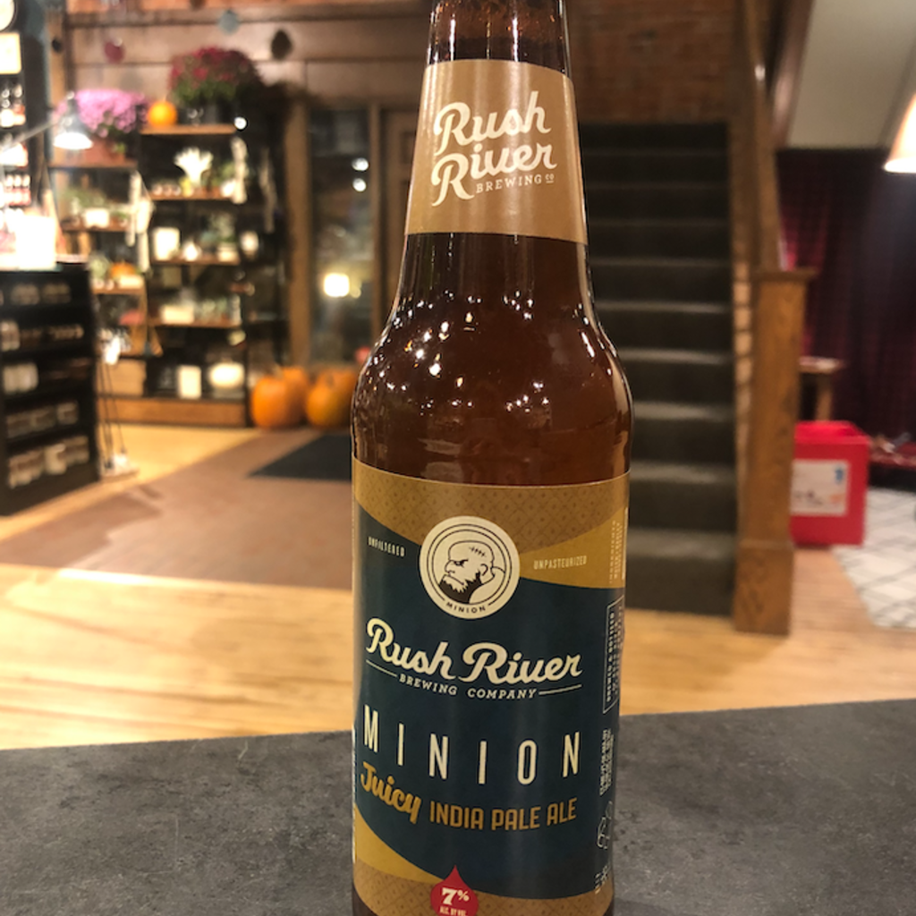 Rush River Brewing Company Rush River Beer - Minion Bottle (12 oz.)