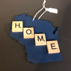 Jenna Krosch WI Scrabble Ornaments