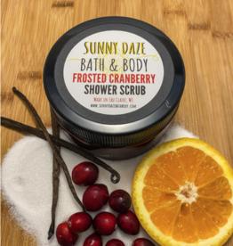 Sunny Daze Bath & Body Shower Scrub - Frosted Cranberry