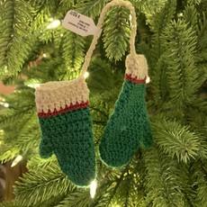 Crochet Ornament - Mittens (Assorted)