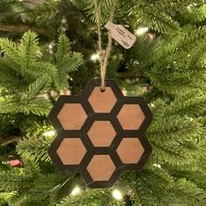 Tree Hopper Toys Ornament - Wood Honeycomb