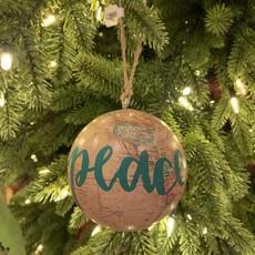 Jenna Krosch Globe Ornament (Round/Assorted)