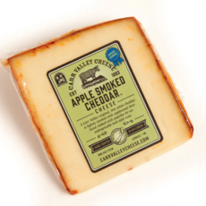 Carr Valley Cheese - Apple Smoked Cheddar Cheese