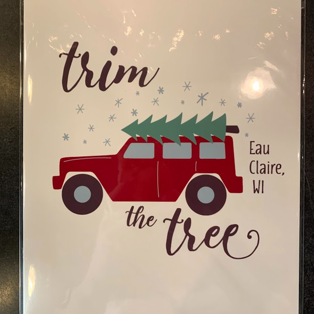 Tandem for Two Print - Trim the Tree