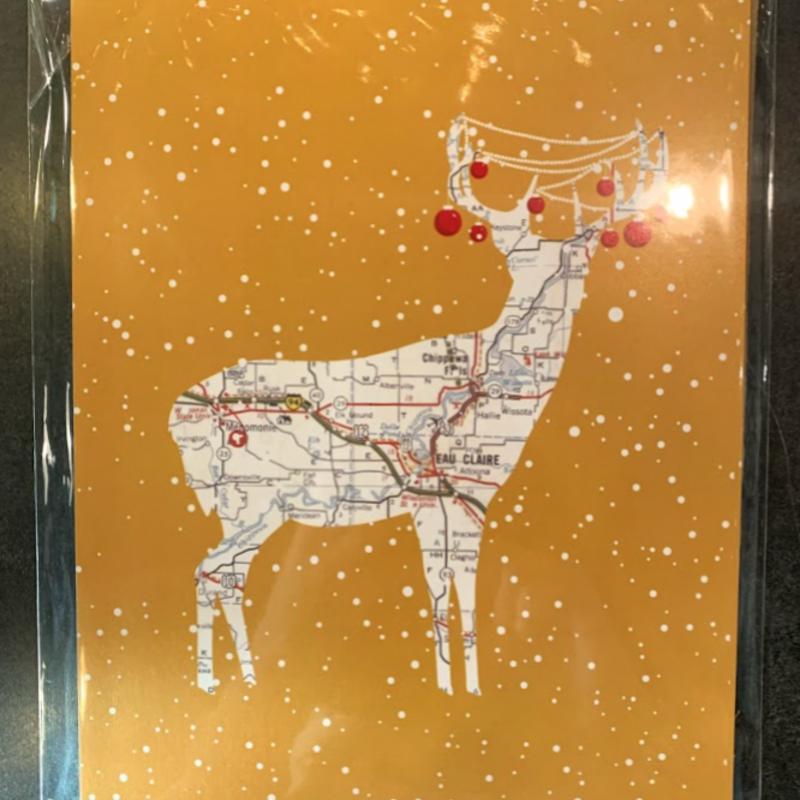 Volume One Holiday Mini Print - Animal Map