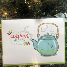 Artery Ink Greeting Card - Warm Wishes