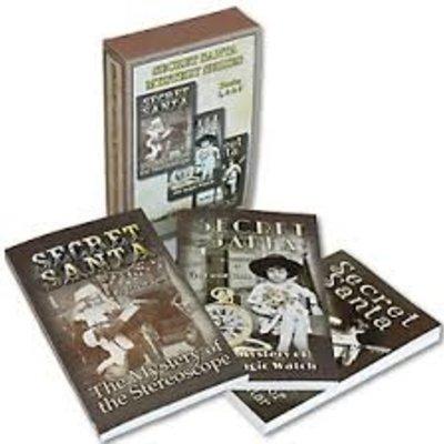 David Tank Secret Santa Mystery Series (Book Boxed Set of 3)