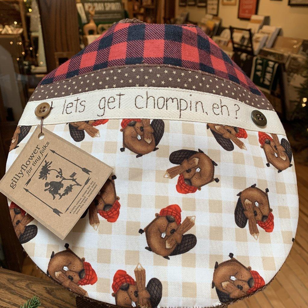 Deb Christenson Bib - Let's Get Chompin'