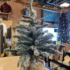 """Volume One Medium Frosted Christmas Tree (24"""")"""