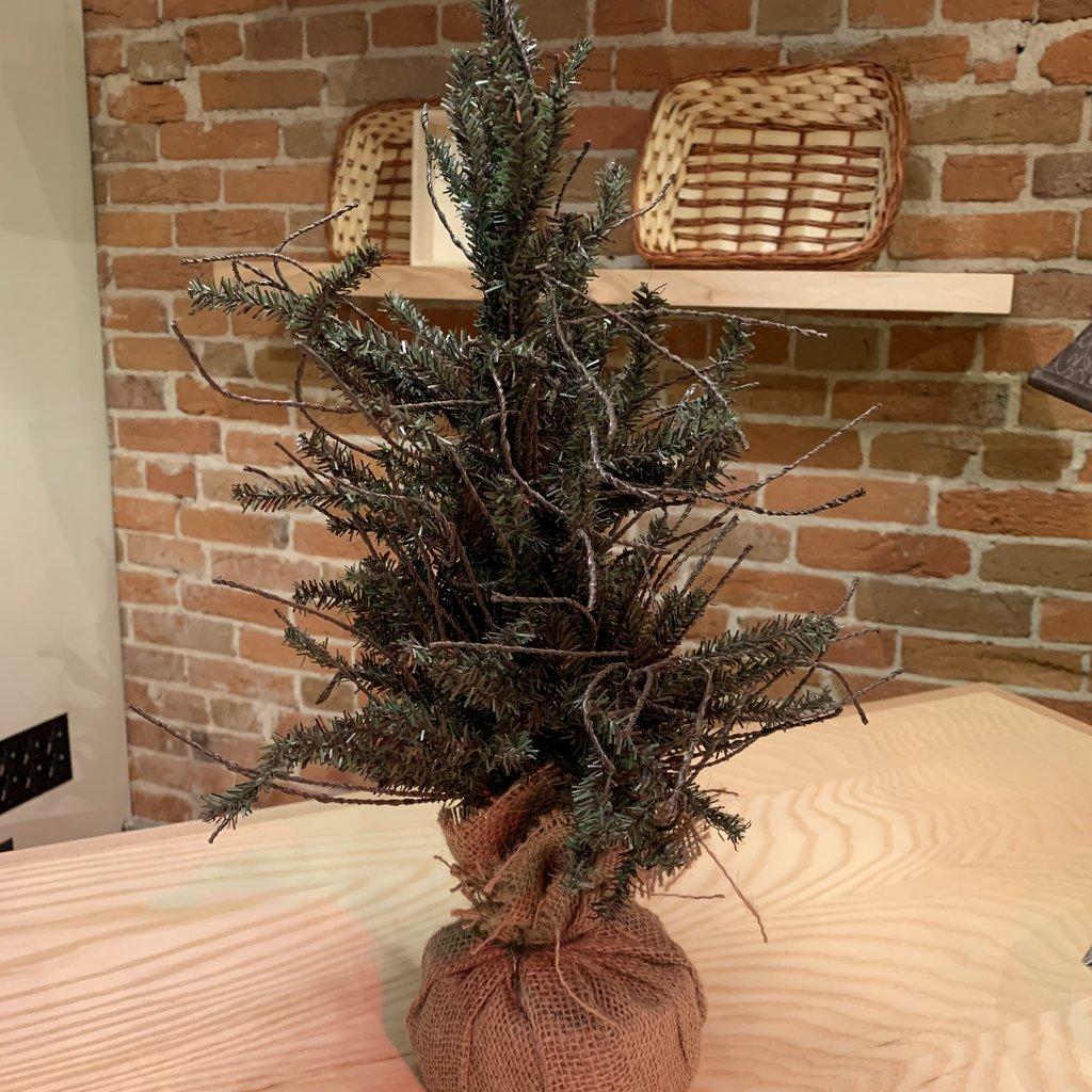 "Volume One Small Christmas Tree (18"") No Lights"
