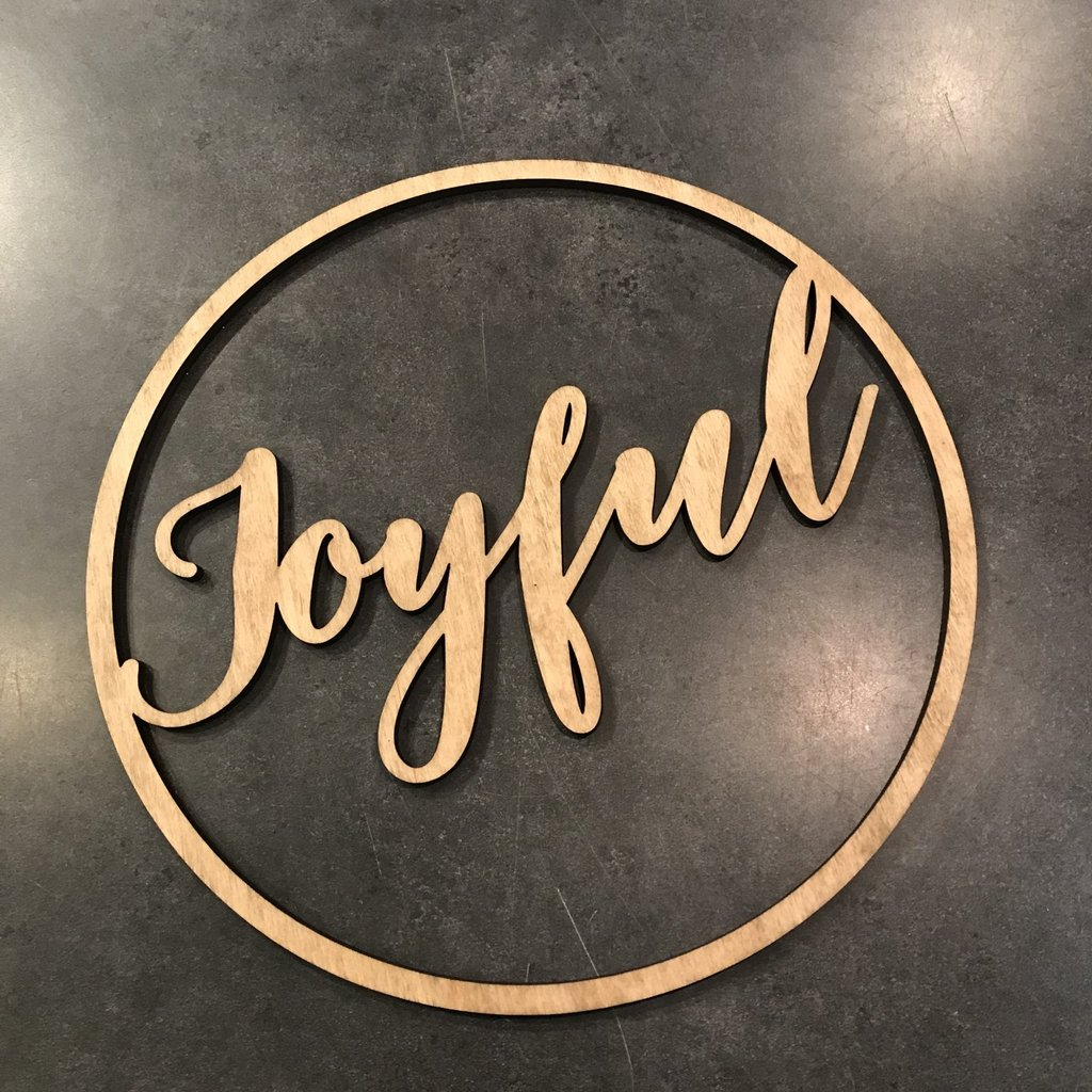 Joyful Cutout
