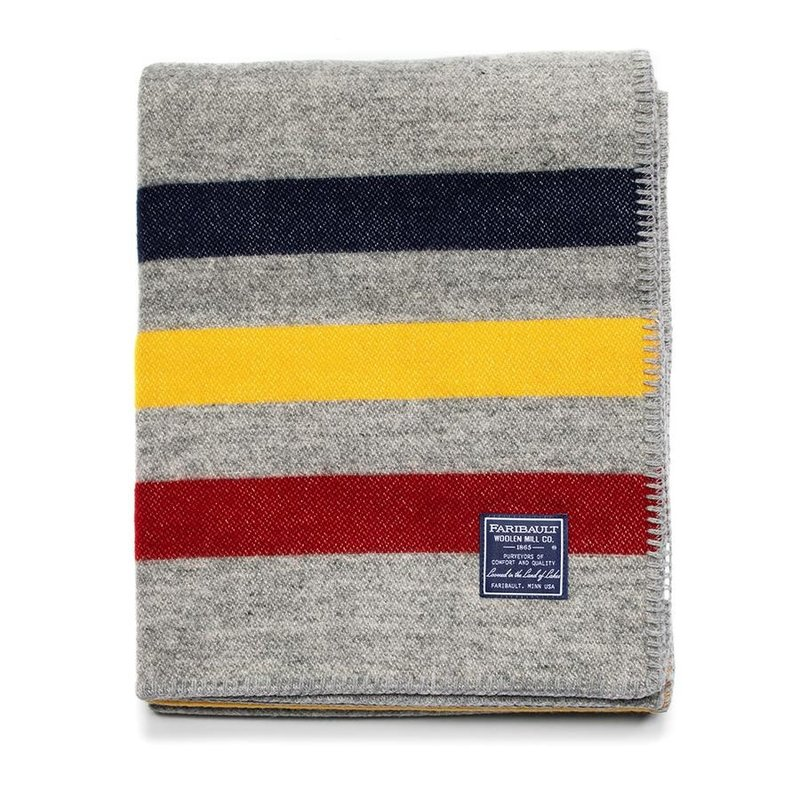 Wool Throw - Frontier