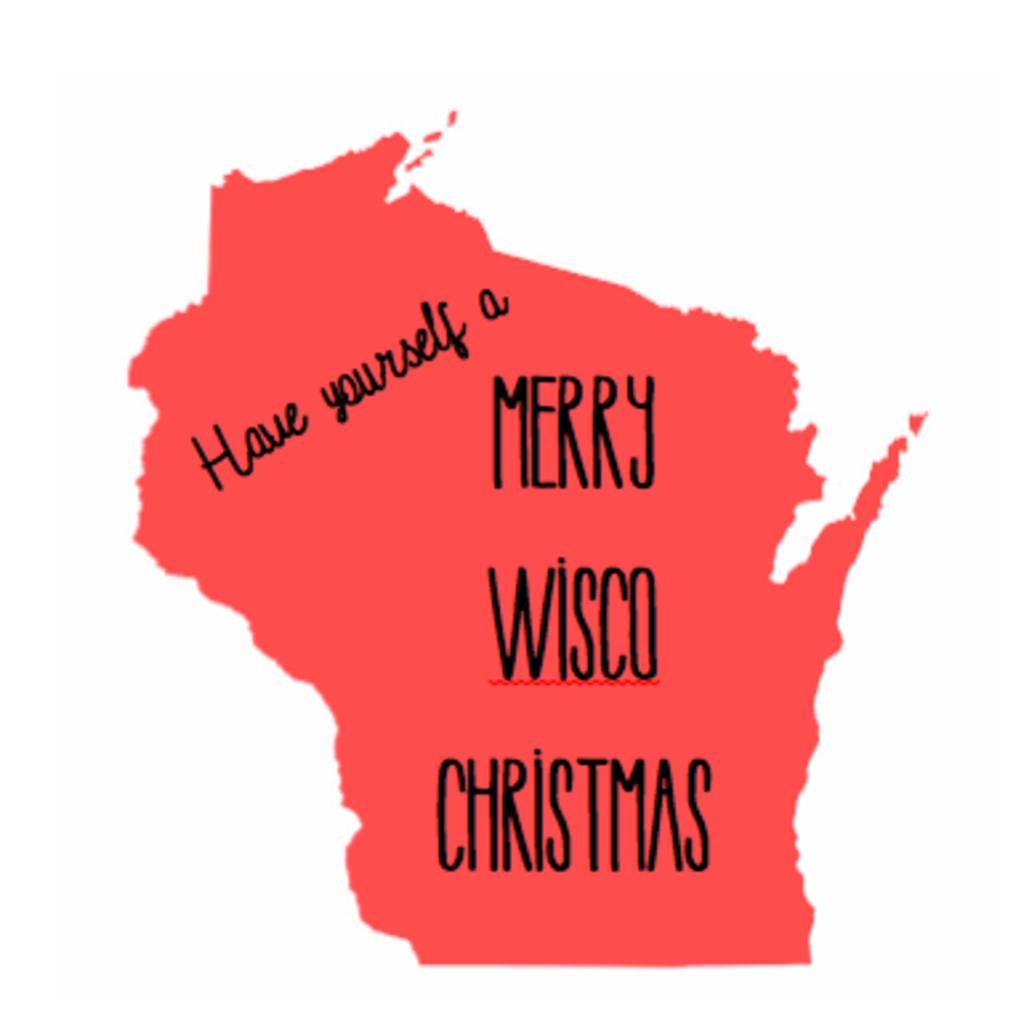 Wisco Cheer Wisco Cheer Holiday Card - Merry Wisco