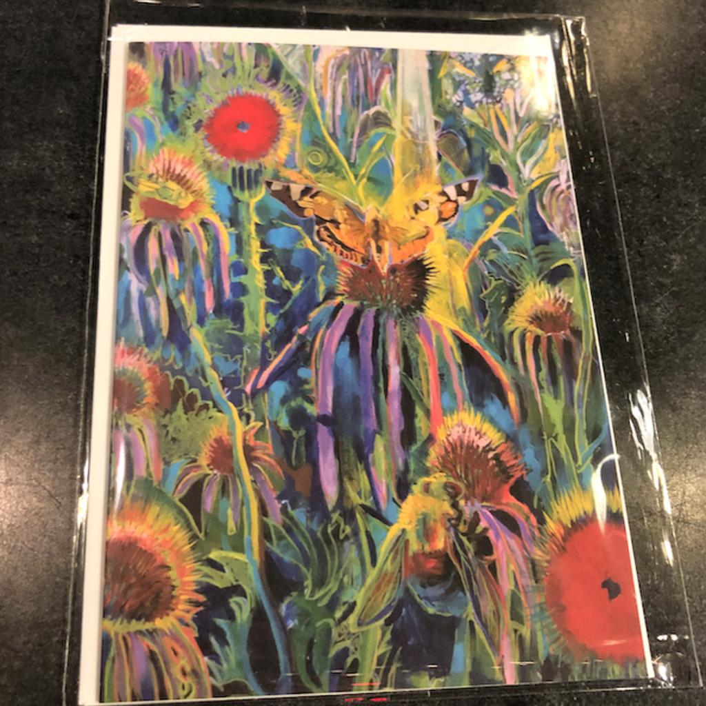 Greeting Card - Hogback Prairie