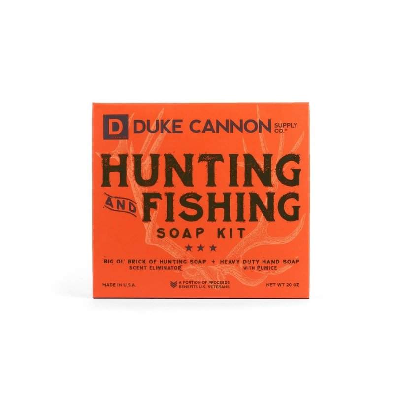 Duke Cannon Supply Co. Hunting & Fishing Soap Set