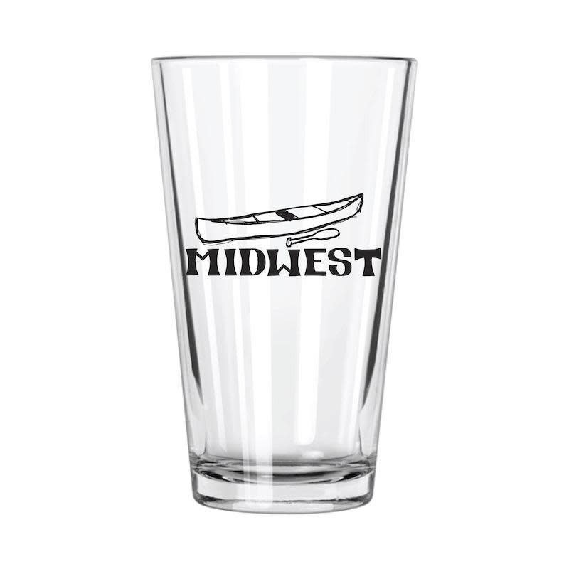 Northern Glasses Pint Glass - Midwest