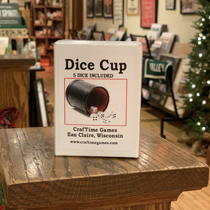 CrafTime Dice Cup