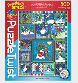 Winter Snow Jam Puzzle