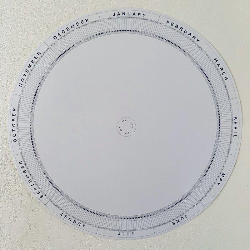 2021 Moon Circle Calendar