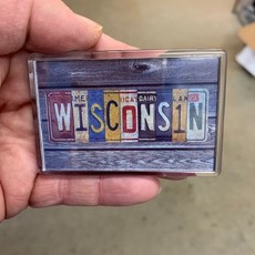 Volume One Wisconsin License Plate Magnet