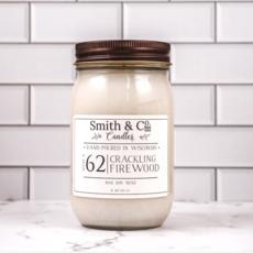 Crackling Firewood Large Mason Jar Candle 16oz