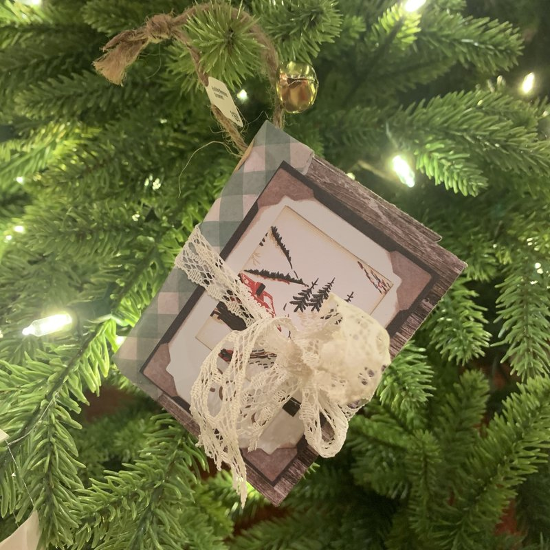 Gazelle Sentiments Holiday Memories Ornament