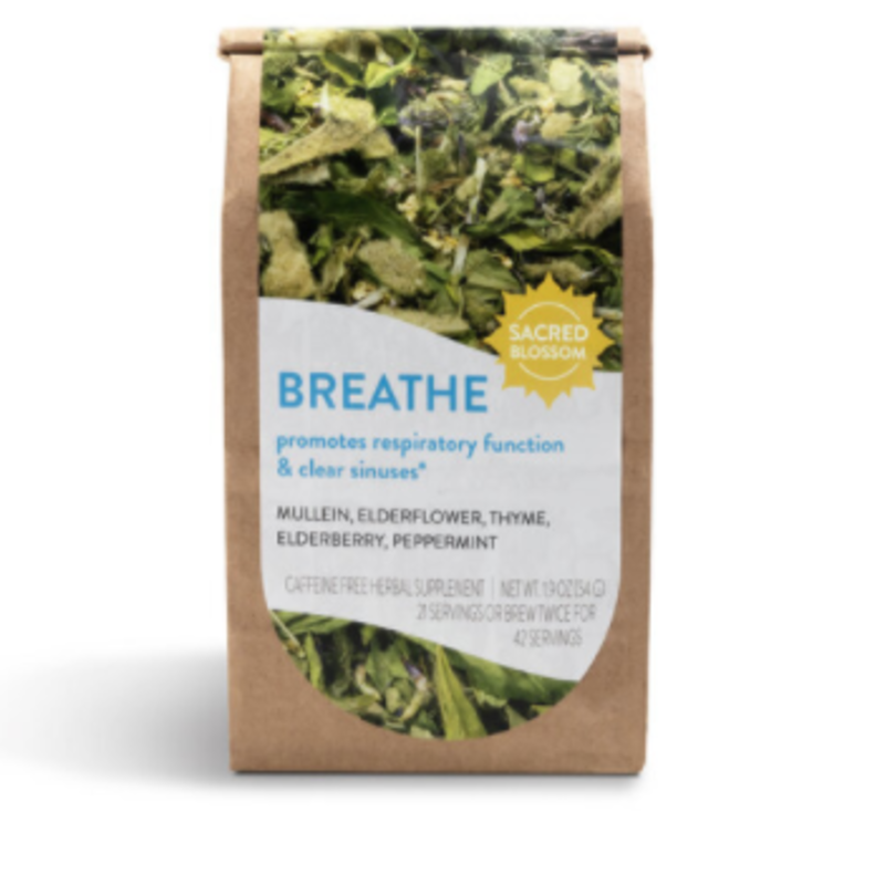Sacred Blossom Farm Herbal Tea - Breathe