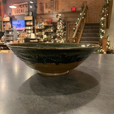Dancing Cat Arts (Pottery) Large Bowl (Pottery) - Northwoods