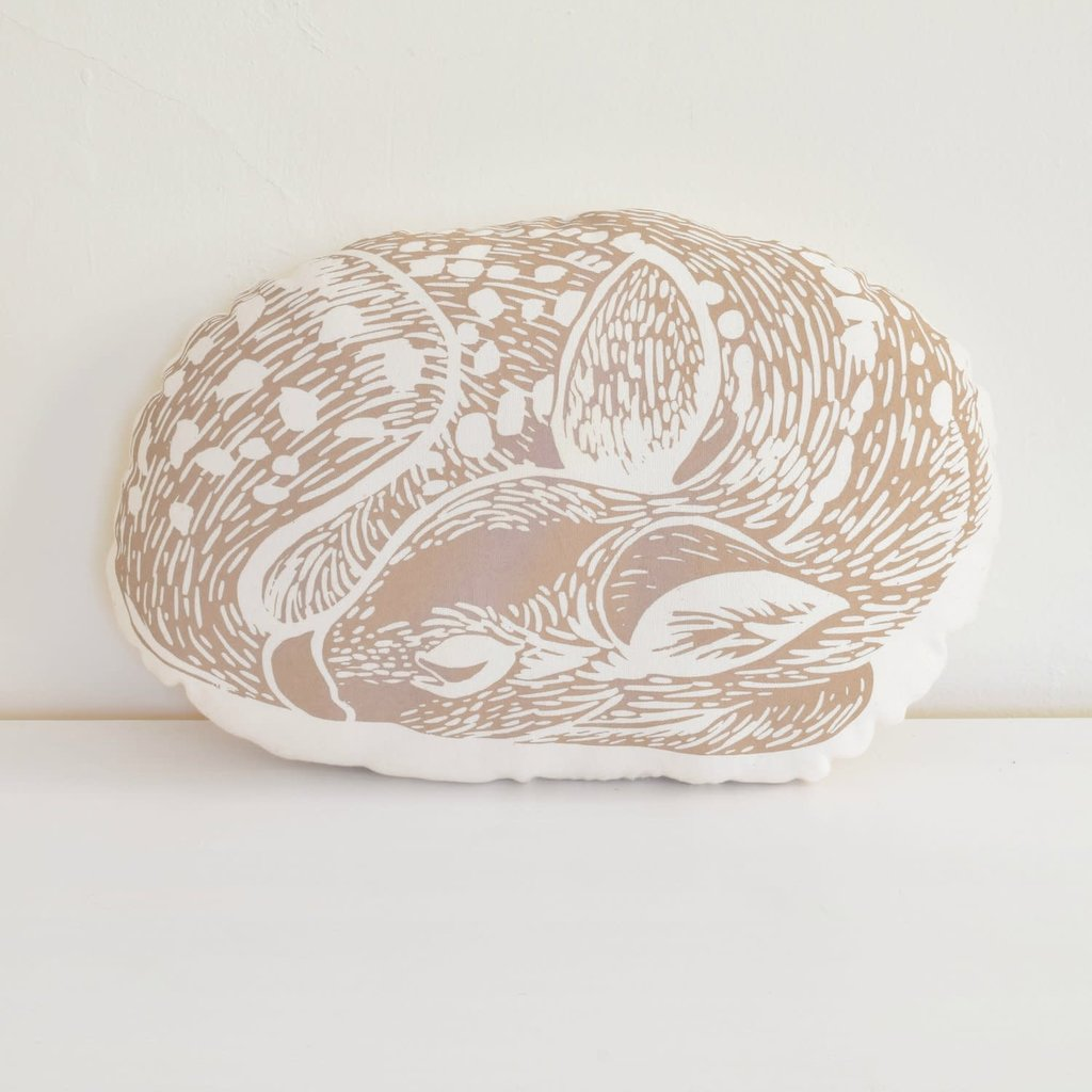 Volume One Pillow - Deer (Brown)