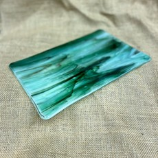 Fused Glass Dish - Assorted Colors (5x7)