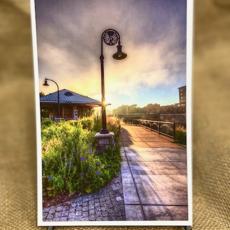 Lloyd Fleig Postcard - Early Morning Phoenix Park