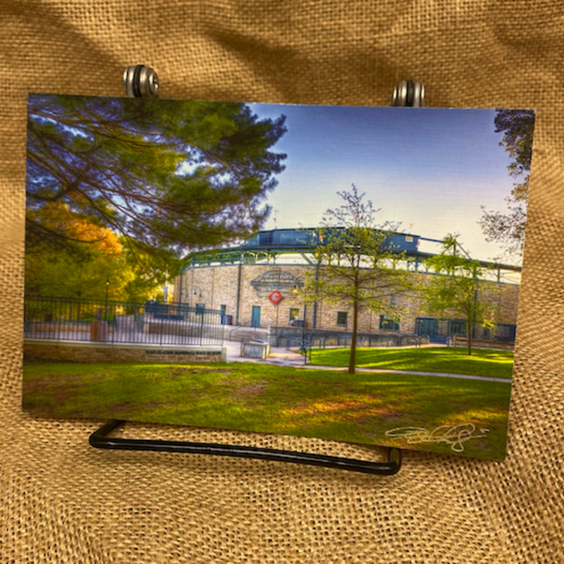 Lloyd Fleig Postcard - Early Morning Carson Park