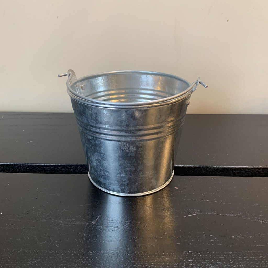 Volume One Build Your Own Gift Basket - Small Metal Pail