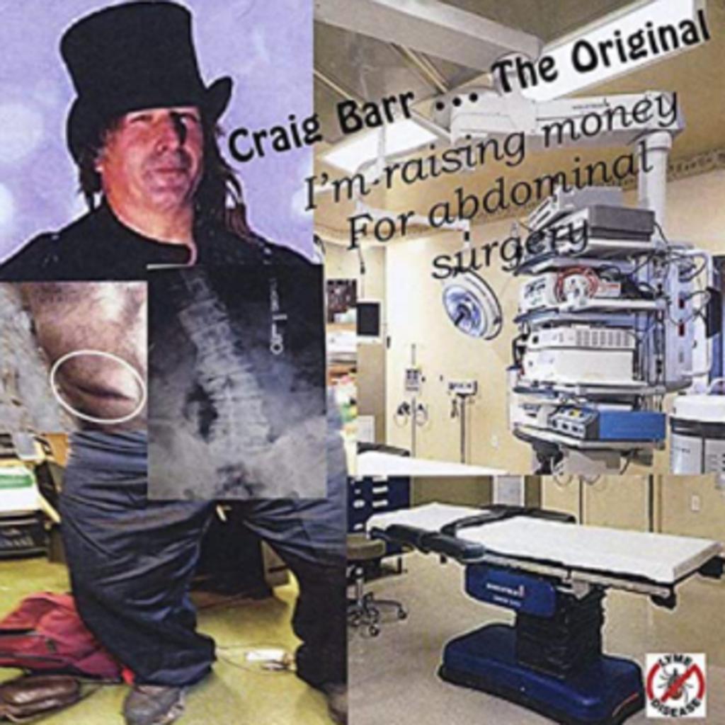 Craig Barr I'm Raising Money For Abdnominal Surgery