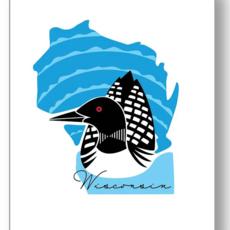 Wisconsin Loon Print (16x20)