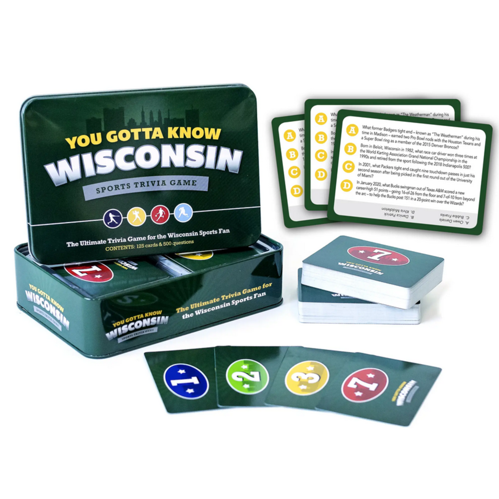 Volume One You Gotta Know Wisconsin: Sports Trivia Game