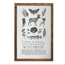 Wisconsin Field Guide Print (11x17)