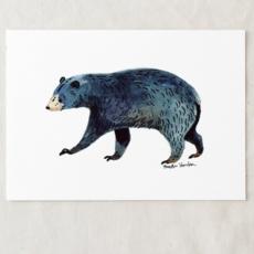 Black Bear Art Print (5x7)