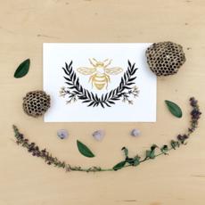 Bee Art Print (5x7)