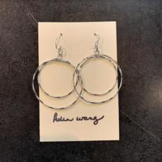 Helen Wang Jewelry Earrings - Silver Circles