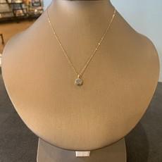 Helen Wang Jewelry Necklace - Petite Silver Drusy