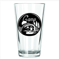 Northern Glasses Pint Glass - Camp