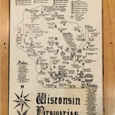 Wisconsin Breweries Map