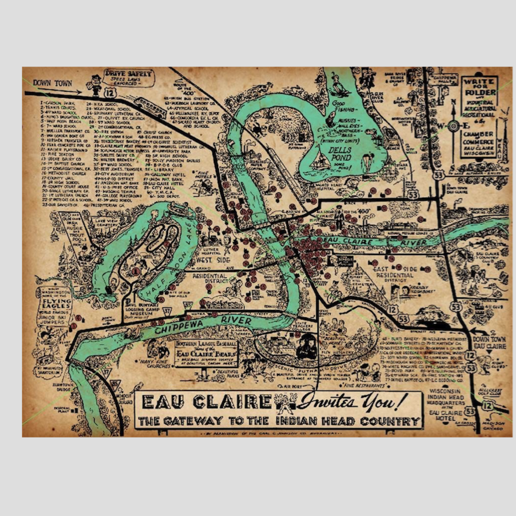 Volume One Eau Claire Invites You Print