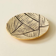 Striped Trinket Plate