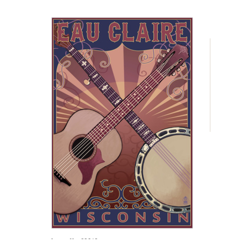 Volume One Stretched Canvas - Eau Claire Guitar & Banjo