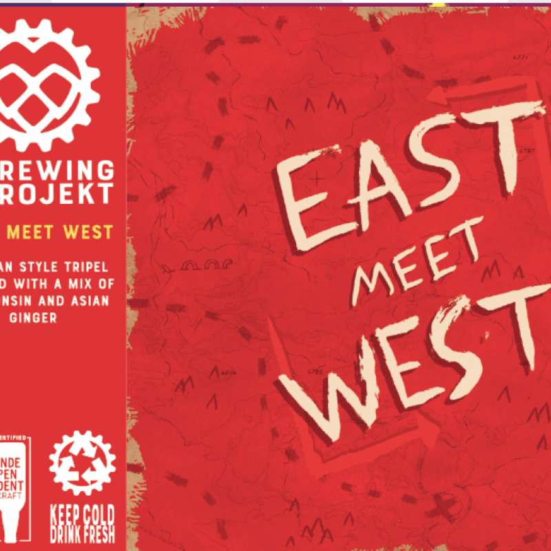 The Brewing Projekt Brewing Projekt Beer - East Meet West Can (16 oz.)