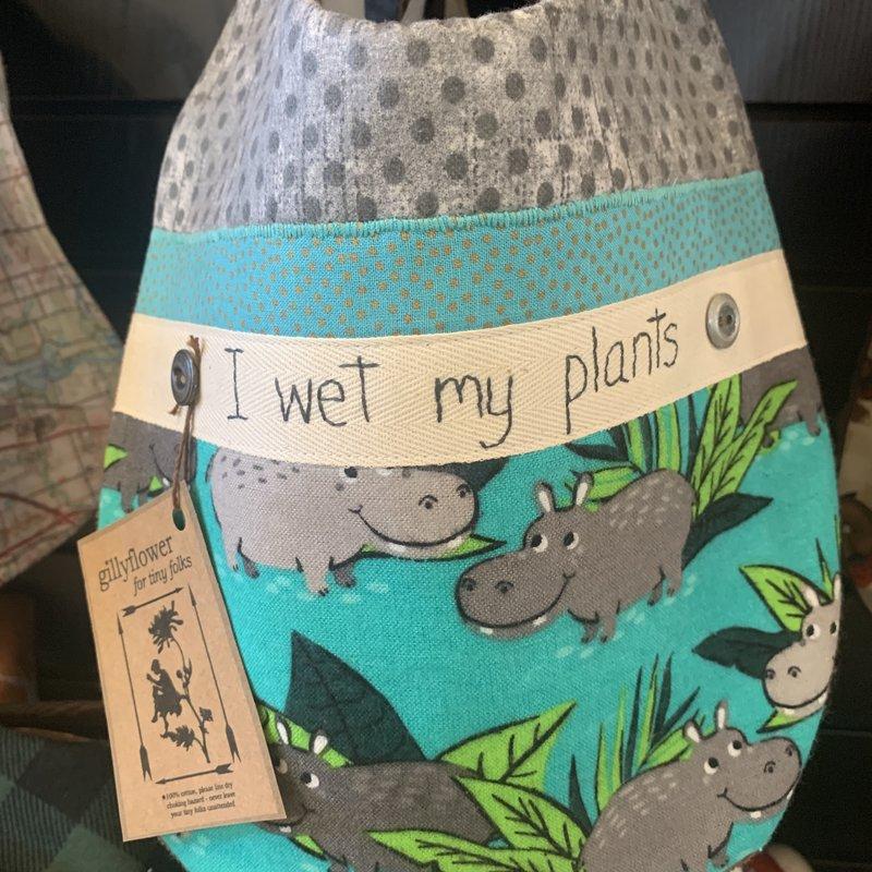 Deb Christenson Bib - I Wet My Plants